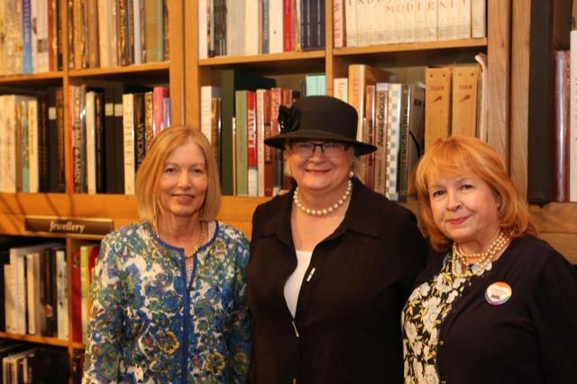 Clare Jameson, Saxon Henry and Bethanne Matari