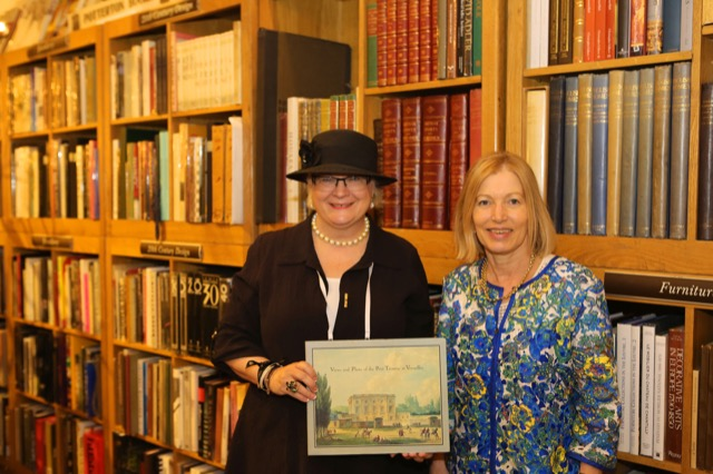 Saxon Henry and Clare Jameson with Versailles Book