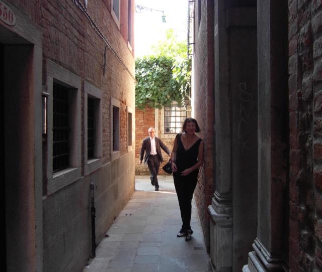 JoAnn Locktov in Venice, Italy