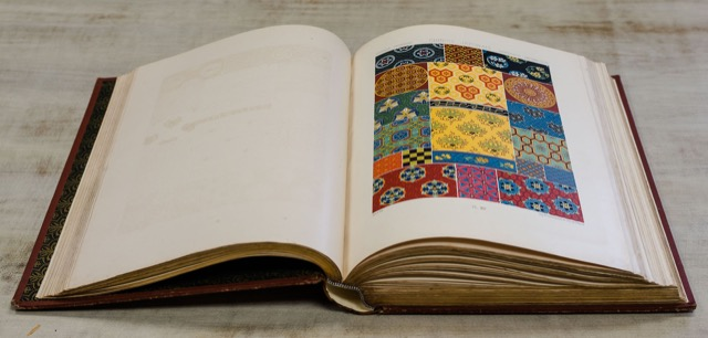 Currey and Company hosted Potterton Books vintage fabric book