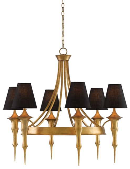 Currey and Company Canto chandelier