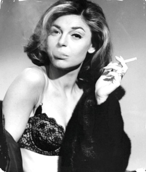 Anne Bancroft in Black Fur, a midcentury cougar