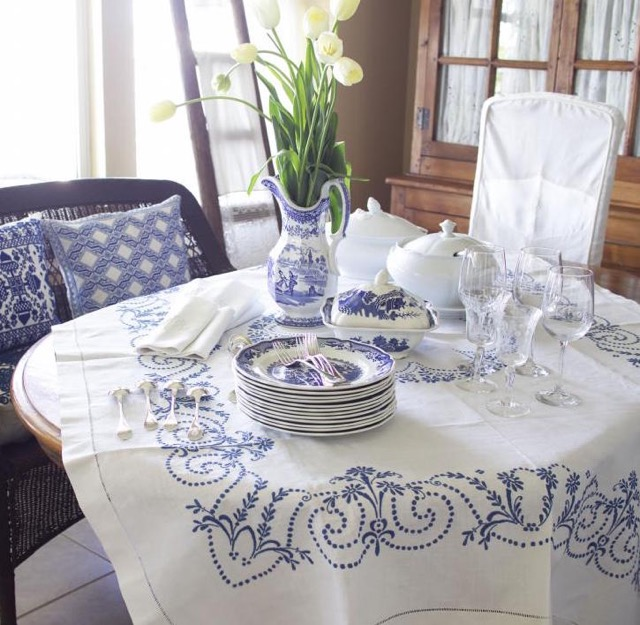 Tablecloths by Pandora de Balthazar