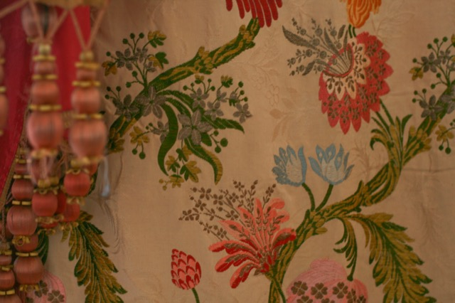 Heirloom and museum-quality textiles by Pandora de Balthazar