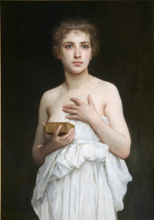 Myth of Pandora by William-Adolphe Bouguereau