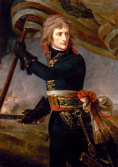 Bonaparte on the Bridge by Antoine-Jean Gros