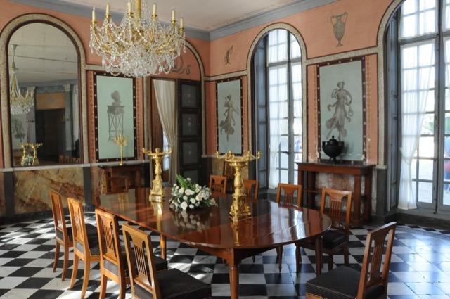 dining roomChâteau de Malmaison