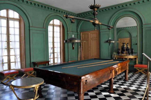 Billiards room Château de Malmaison
