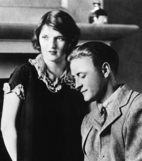 F. Scott and Zelda Fitzgerald after This Side of Paradise