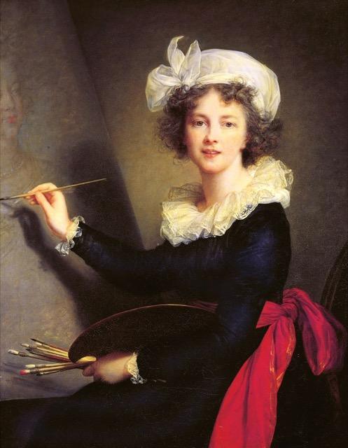 Vigée Le Brun_Self-portrait_1790_Uffizi Gallery_Florence