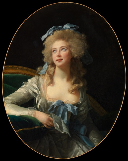 Vigée Le Brun painting of Madame Grand