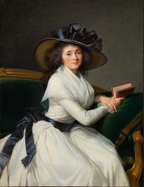 Vigée Le Brun painting Comtesse de la Chatre