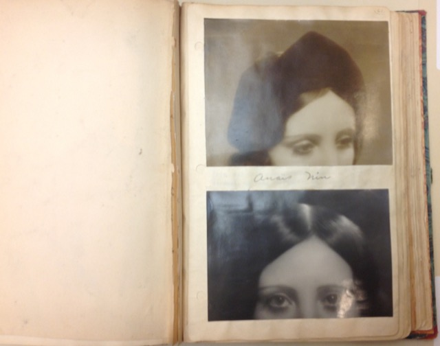 Henry Miller photos of Anaïs Nin's eyes