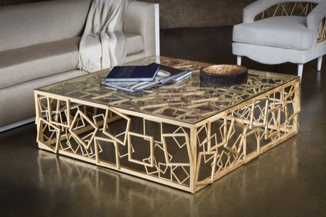 Cocktail table Badgley Mischka Home collection