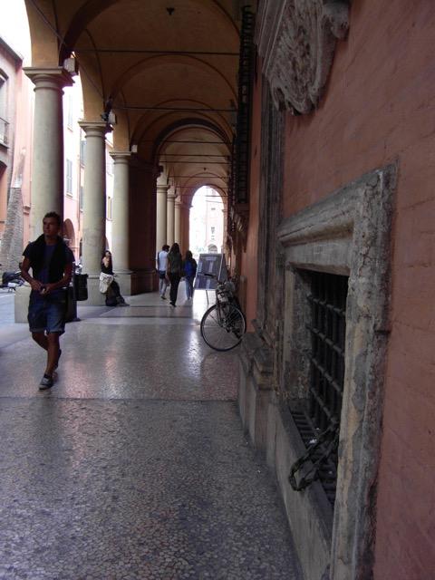 Portico in Bologna Italy
