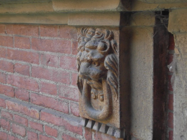 Lion on Building Bologna University