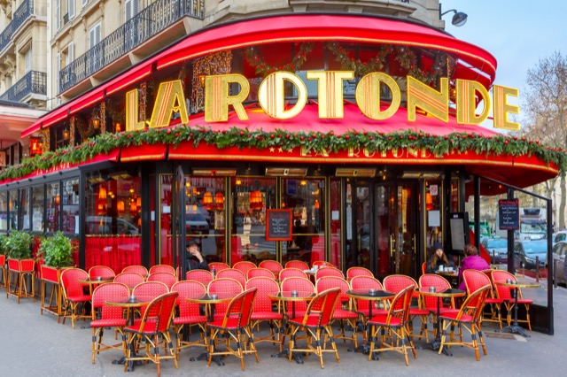 Café de la Rotonde in Paris.