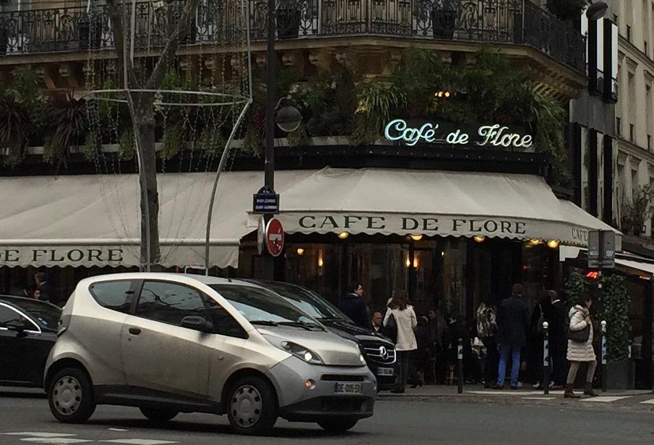 Café de Flore a Parisian cafe