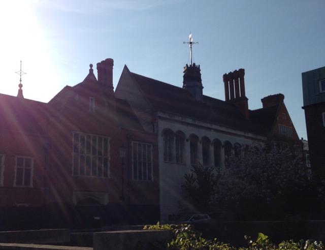 Crosby Hall in Sunlight