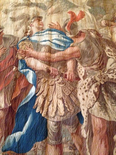 Jason tapestry at Palazzo Reale