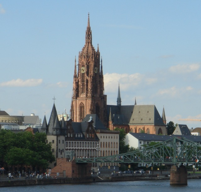 The Cathedral of St. Bartholomew Frankfurt