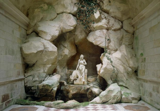The Grotto of the Laiterie de la Reine built in 1785