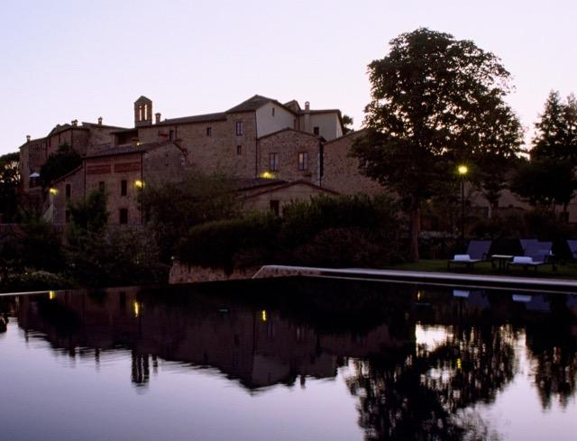 Castel Monastero Infinity Pool