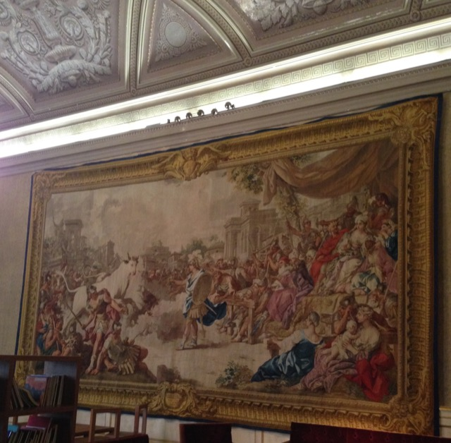 Jason and Medea tapestry at the Palazzo Reale