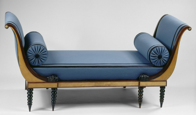 sofa owned by Juliette Recamier