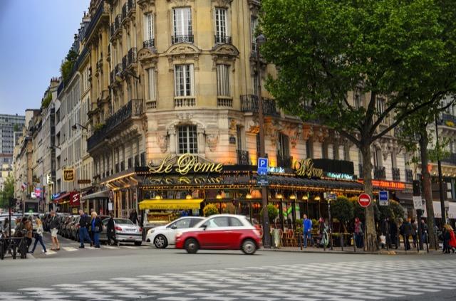 Le Dome Café in Paris.