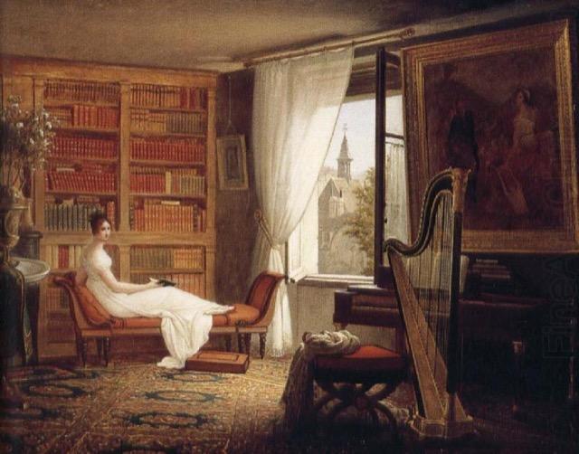 Madame Récamier reclining