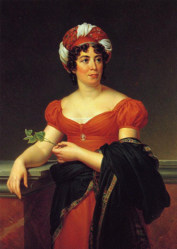 Germaine de Staël by François Gérard.