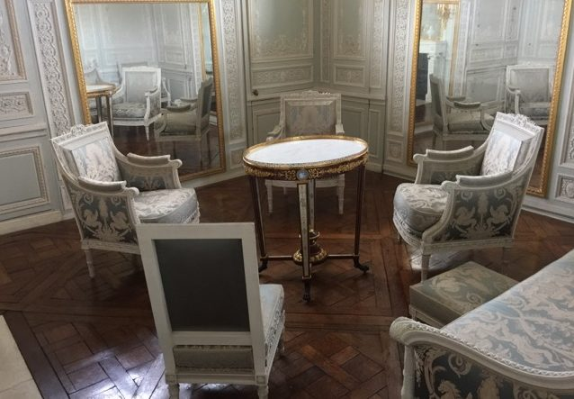 Marie Antoinette's boudoir at The Petit Trianon