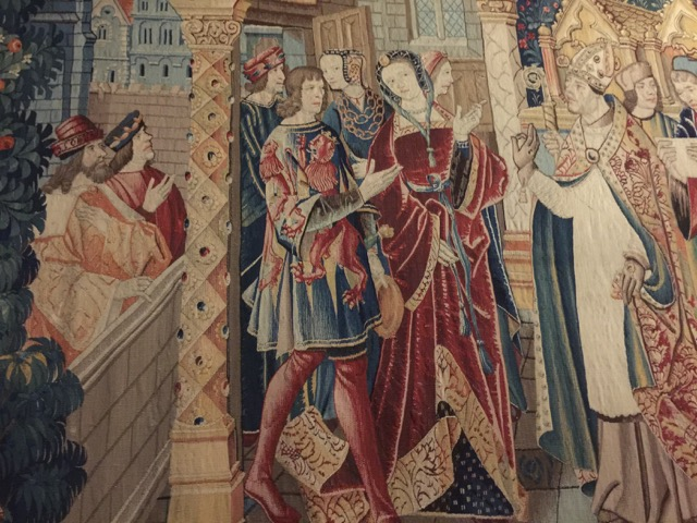 A tapestry at the Musée de Cluny proves how far back the fabric of design extends
