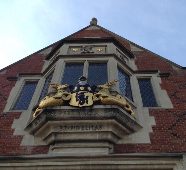 Oriel Window of Crosby Hall