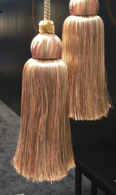 Passementerie brought to Heimtextil by Oz-Is