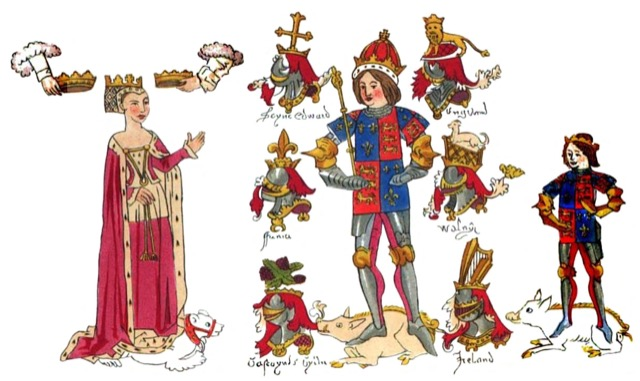 Rous Roll Richard III and family