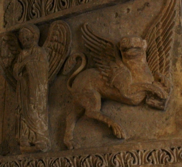St Mark as Winged Lion, the new face for religious zeal