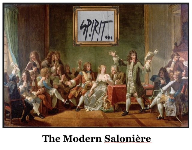 The Modern Saloniere by Saxon Henry