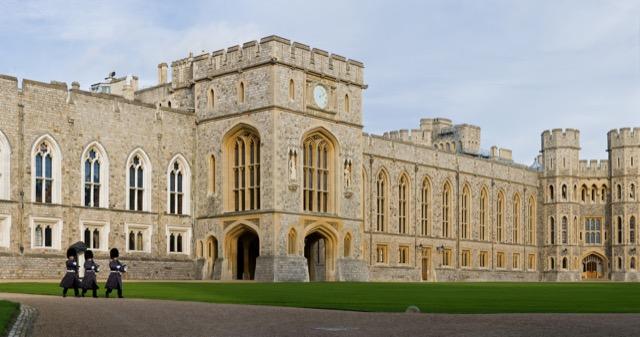 Windsor Castle Upper Ward Quadrangl