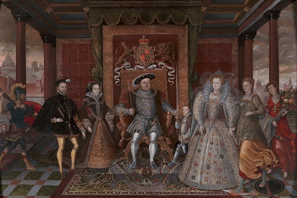 Henry VIII Allegory of Tudor Succession