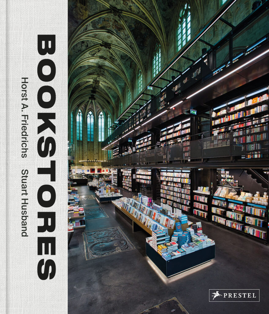 The cover of Bookstores published by Prestel