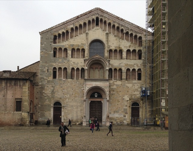 Saxon Henry visits the Parma Cathedral. Image © Saxon Henry.