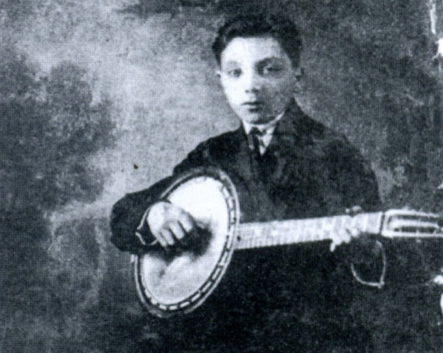Jazz Musician Django Reinhardt when he was a boy.
