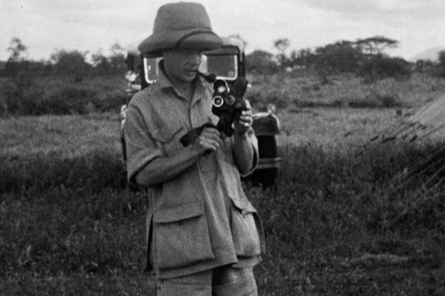 prince of Wales films on safari