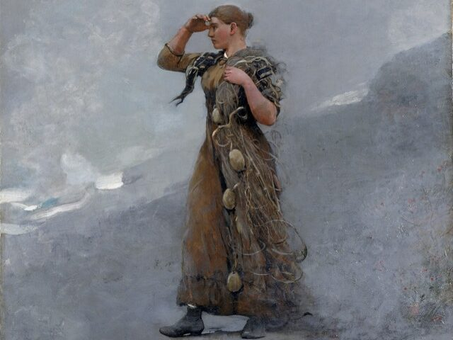 Winslow Homer's The Fisher Girl