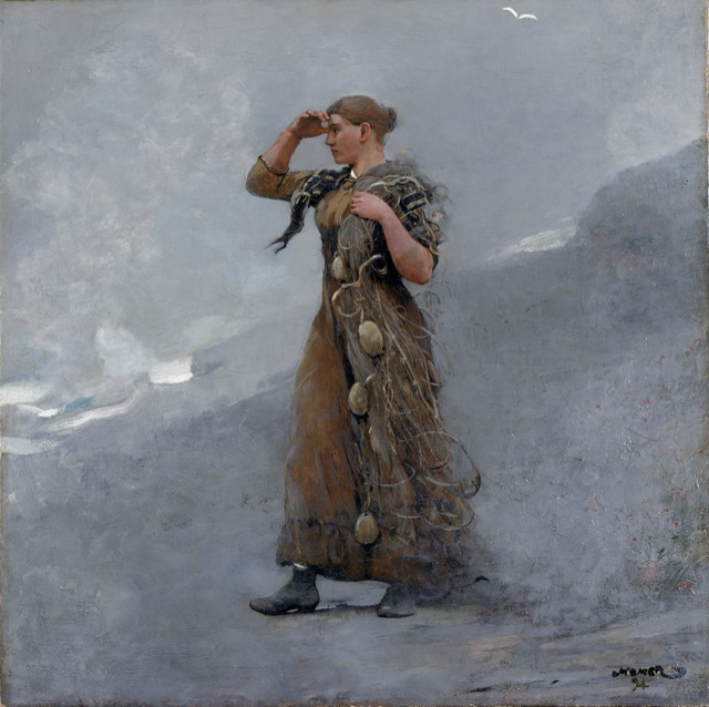 Winslow Homer's Fisher Girl, which he painted in 1894.