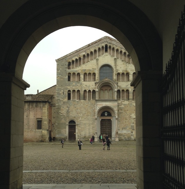 Saxon Henry traces Petrarch's steps in Parma, Italy.