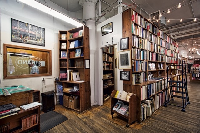 The Strand in New York City, one of my all-time favorite bookstores. Image © Horst A. Friedrichs.