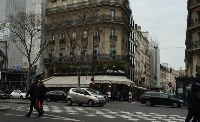 Café de Flore in Paris where Jim Morrison liked to hang out. Image © Saxon Henry.